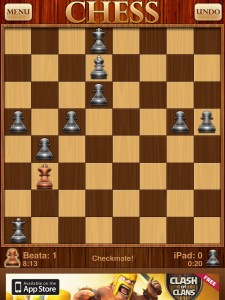 Optime Chess - Incorrect mate