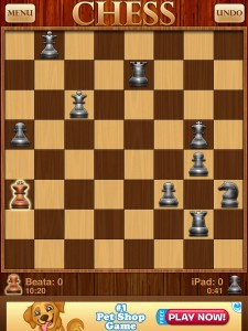 Optime Chess - Lame stalemate